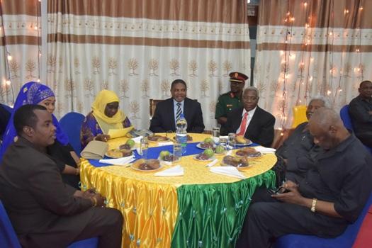 hafla ya uchangiaji wa Vifaa vya michezo katika Skuli za Serikali za Zanzibar