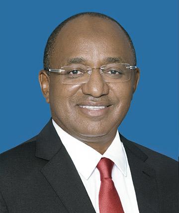 H.E. Dr. Hussein Ali Mwinyi