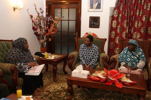 Dk.Ali Mohamed Shein pamoja na familia yake wamekamilisha zoezi la sensa ya watu na makaazi