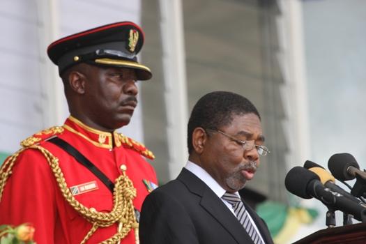 Hutuba ya Mhe:Dkt.Ali Mohamed Shein kwenye kilele cha sherehe za miaka 48 ya Mapinduzi ya Zanzibar