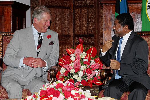 Dk Shein Akutana na Prince Charles Ikulu Zanzibar leo