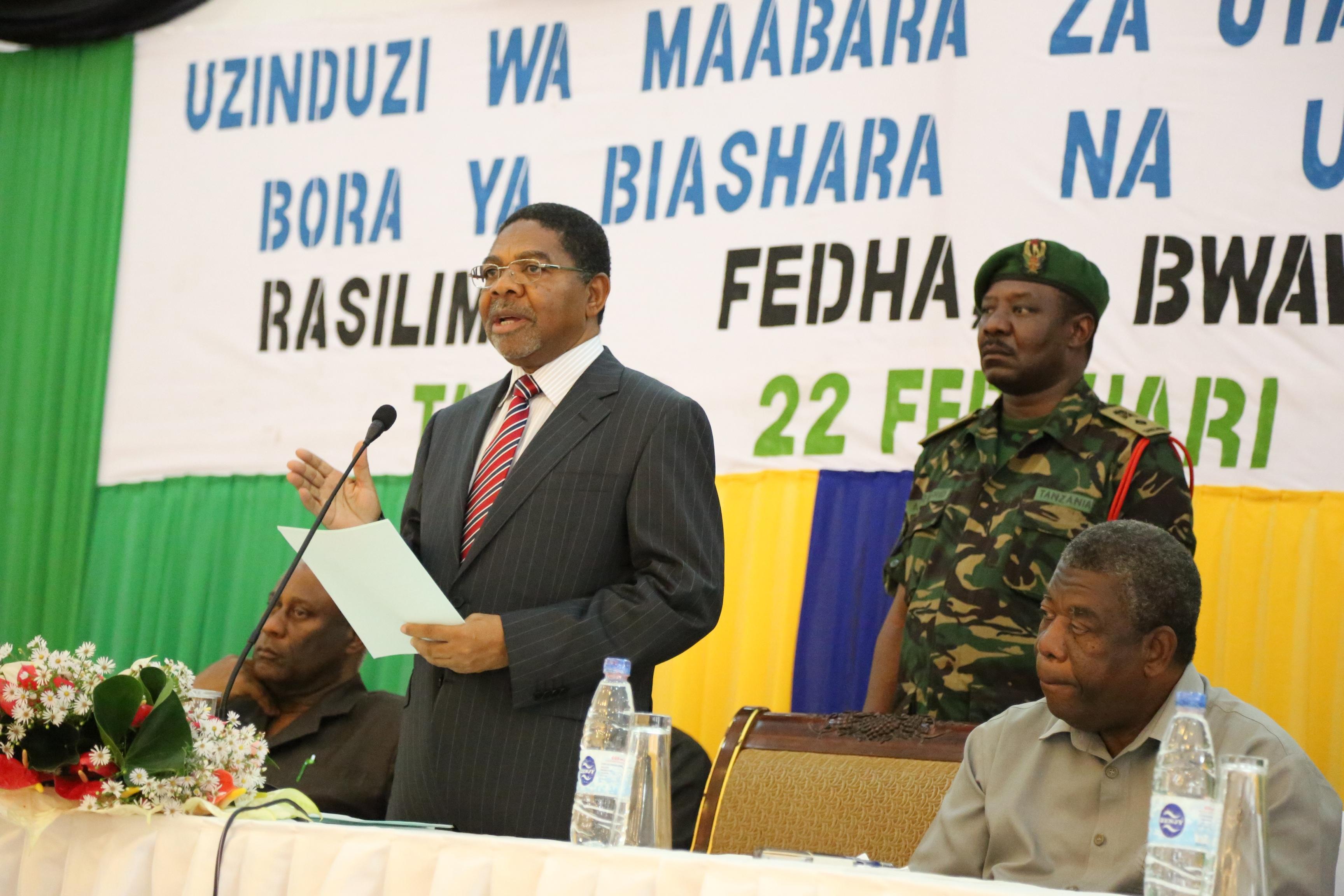 Dk.Shein asisitiza dhamira ya dhati ya Serikali ya Mapinduzi ya kuimarisha sekta ya utalii Zanzibar.