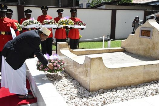 Hitma ya kumuombea dua Rais wa Kwanza wa Zanzibar Marehemu Mzee Abeid Amani Karume,