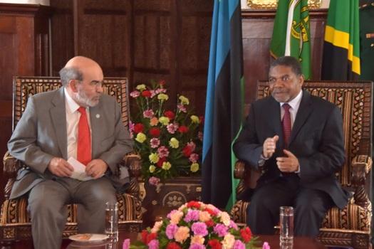 Rais wa Zanzibar na Mweyekiti wa Baraza la Mapinduzi Dk.Ali Mohamed Shein,