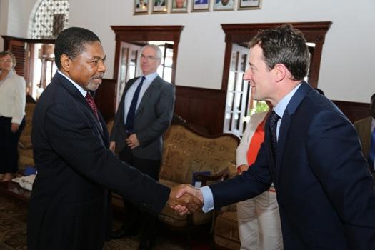 Dk.Shein amefanya mazungumzo na Waziri wa Ireland