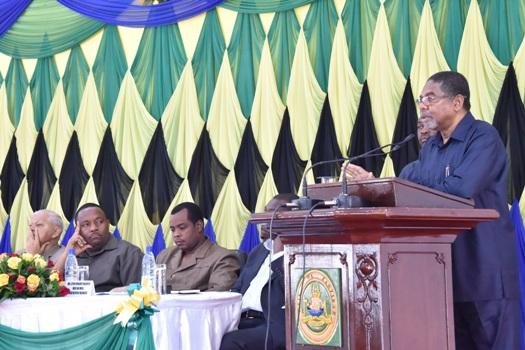 Hafla ya Uhamasishaji na Uchangiaji Madawati ya Skuli za Serikali ya Mapinduzi ya Zanzibar.
