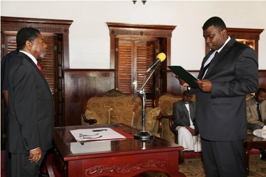 Dk.Shein amemuapisha Mwanasheria Mkuu wa Zanzibar.