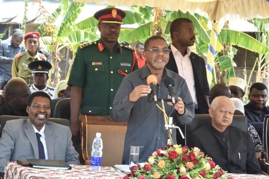 Rais wa Zanzibar na Mwenyekiti wa Baraza la Mapinduzi Dk.Ali Mohamed Shein,