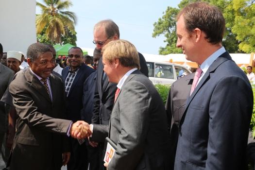 Uzinduzi wa Tamasha la Vijana Bwawani Zanzibar.